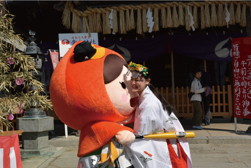愛宕神社・ほおずきんちゃん